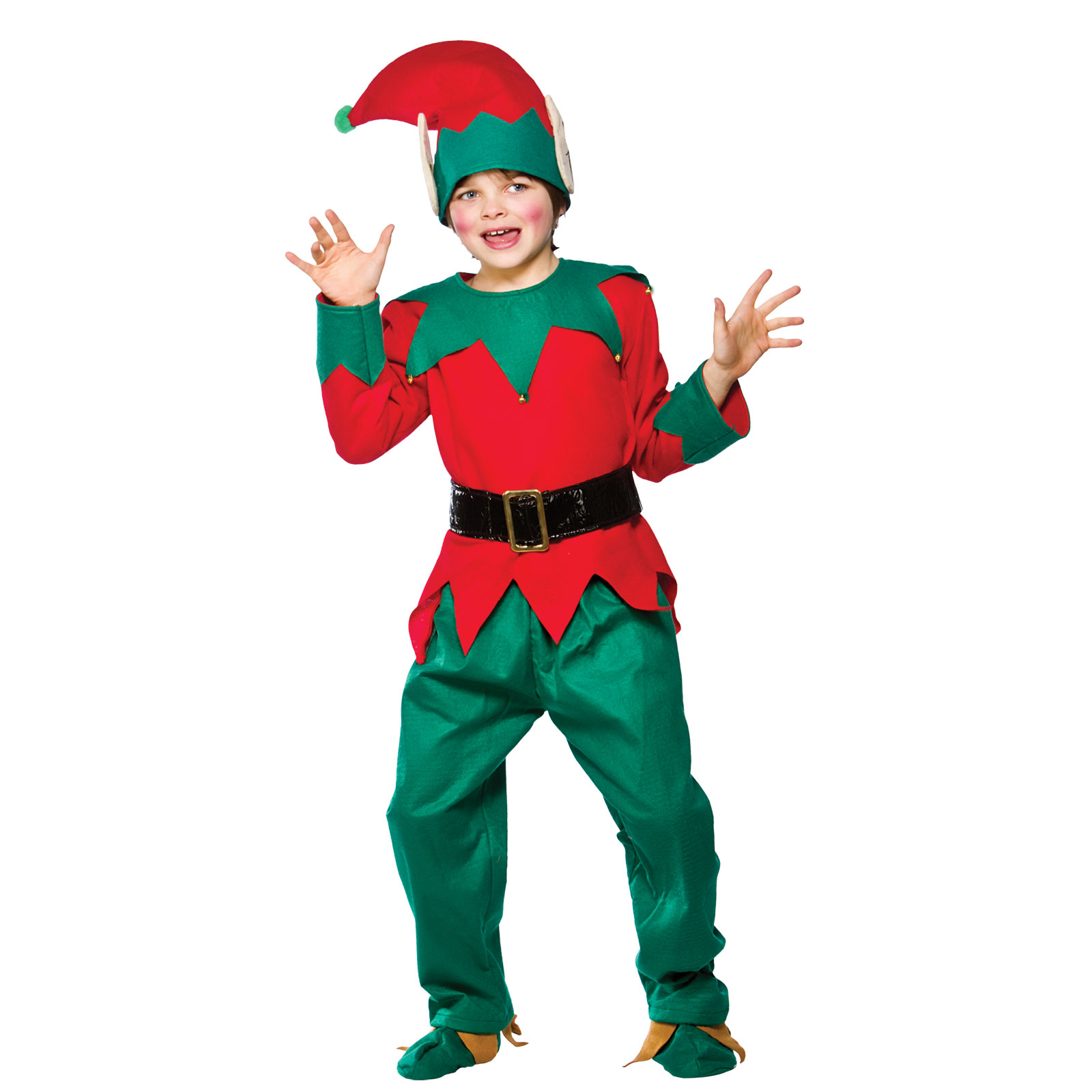 Christmas tree dress up images - Childrens Elf Suit Fancy Dress Christmas Panto Dress Up Festive Xmas Costume New Christmas Xs Party