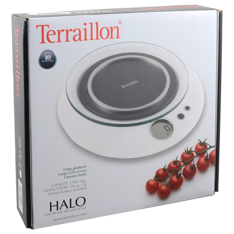 Hanson terrallon halo kitchen scale scales measuring scales for How much is a kitchen scale