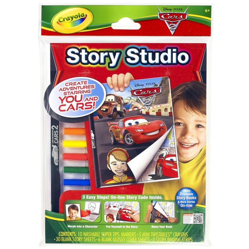 Crayola Story Studio Cars