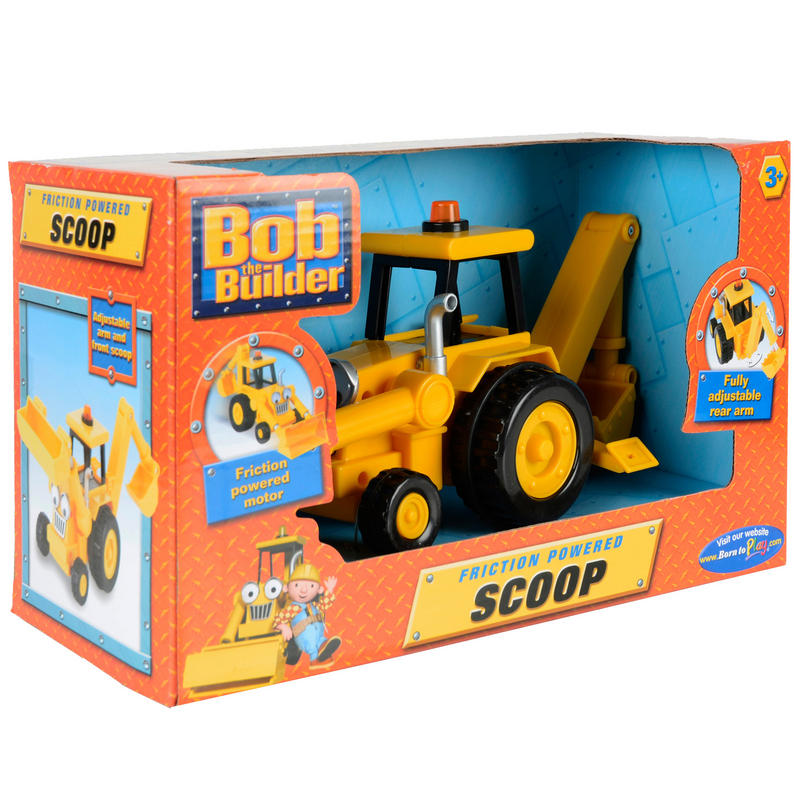 Kids Bob The Builder Friction Powered Scoop Toy New