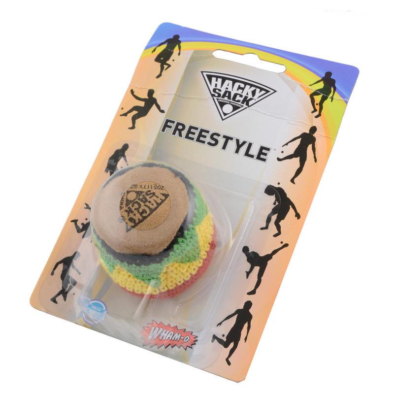 Sack Of Toys : Hacky sack original footbag football ball toy new