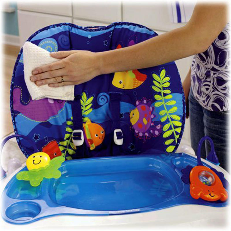 Babys Fisher Price High Chair Ocean Wonders New