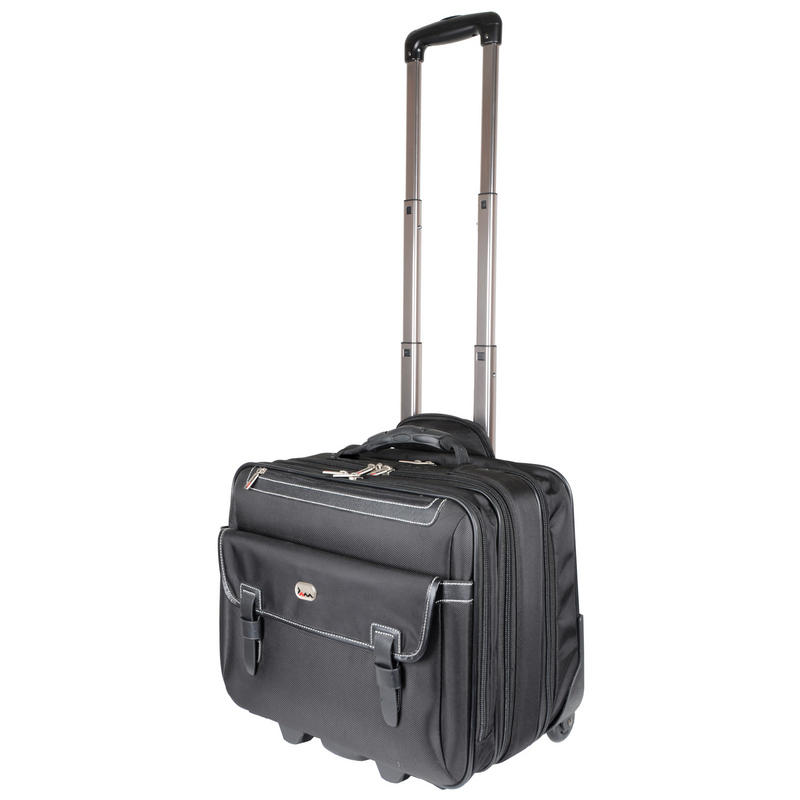 Business Laptop Clothes Trolley Case Bag With Satchel ...