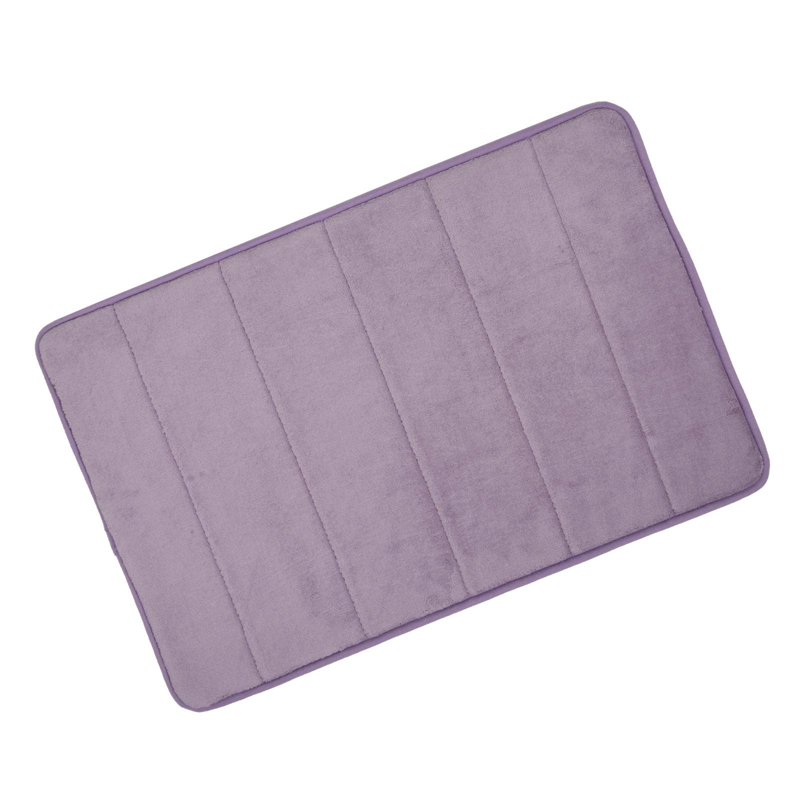 microfibre memory foam bathroom shower bath mat with non slip back picture 12 of 24