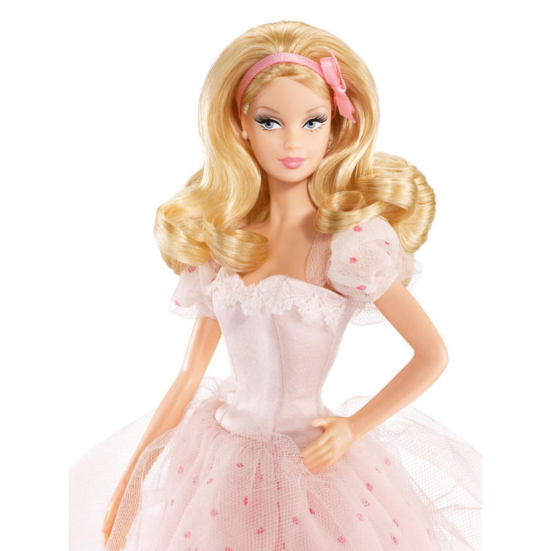 New Childrens Birthday Wishes Barbie Doll Collector Gift