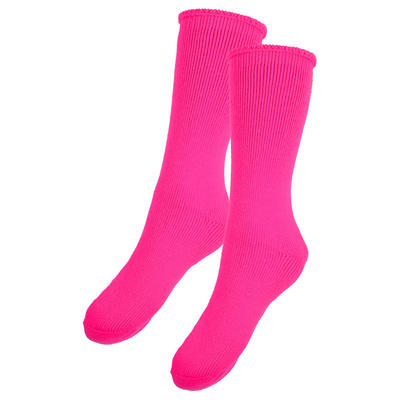 New Adults Thermal Socks 2.4 Tog Triple Brushed - Hot Pink 6-8