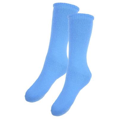 New Adults Thermal Socks 2.4 Tog Triple Brushed - Sky Blue 3-5