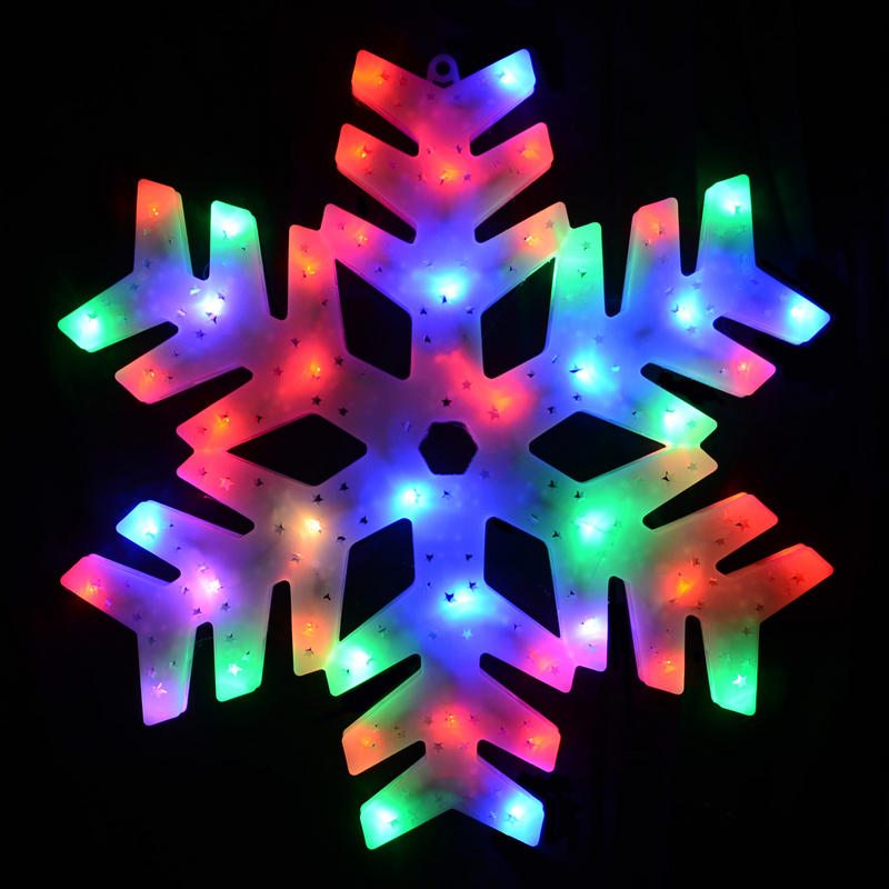 50 colour changing led snowman window decoration for Led christmas decorations