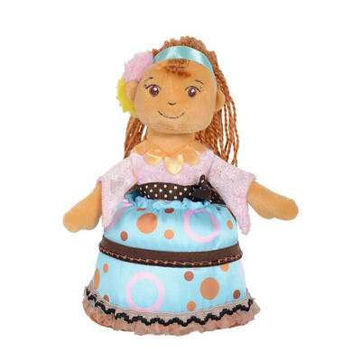 Cutie Cakes Super Soft Cupcake Doll New - Chocolate Chip Charlie