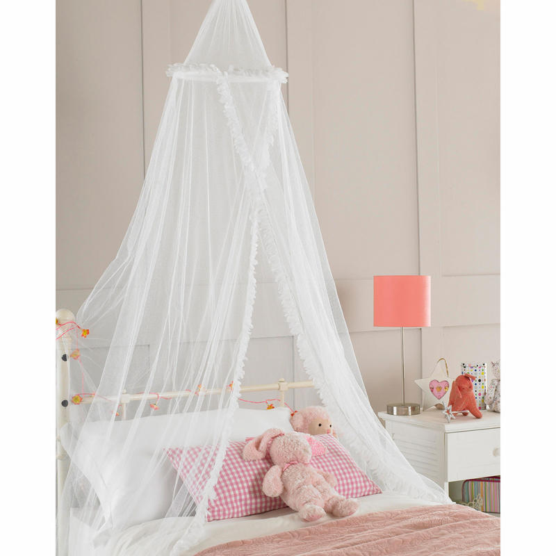 Childrens Girls Bed Canopy Mosquito Fly Netting New