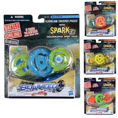 Beyblade Beywheelz Battle Top With Spark FX New