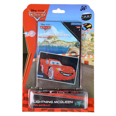 Disney Pixar Cars Lightning McQueen Pin Mosaic New