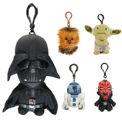Childrens Star Wars Mini Talking Plush Toy Teddy Keyring Gift Film TV Ages 2+
