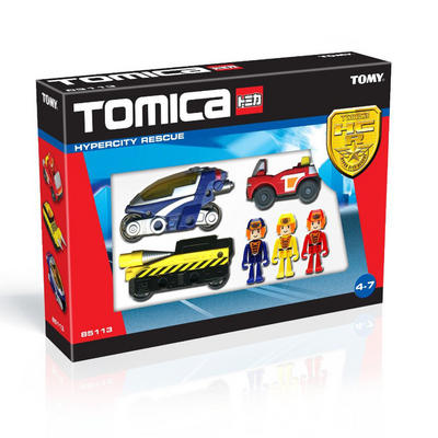Childrens Tomica Hypercity Small rescue Vehicle Car Toy New