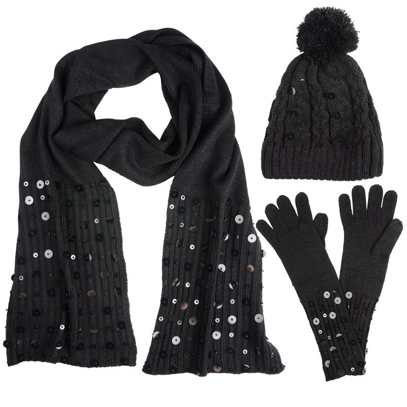 Buy Wrapables Winter Warm Knitted Infinity Scarf and Beanie Hat Set, Black, One Size: Shop top fashion brands Accessories at shopnew-5uel8qry.cf FREE DELIVERY /5().