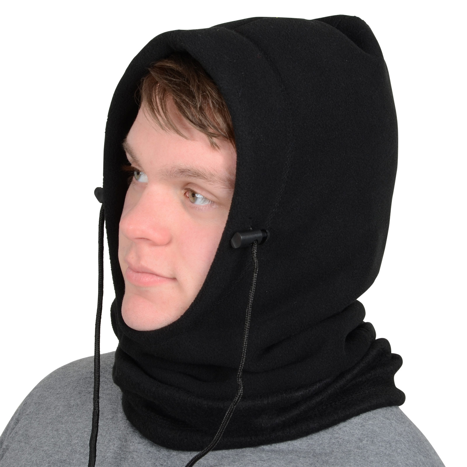 Full face mask neck warmer hood balaclava outdoor winter sports hats - Picture 2 Of 5