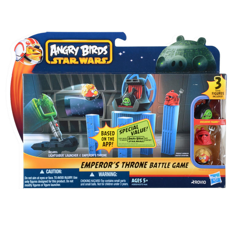 Star Wars Toy Game : Childrens angry birds star wars battle game toy