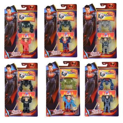Childrens Superman Quick Shots Action Figure Toy