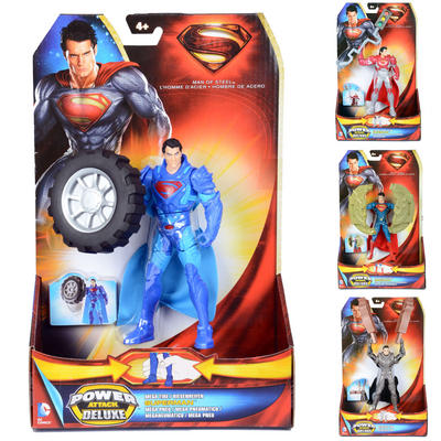 Childrens Superman Power Attack Deluxe Figures Toy