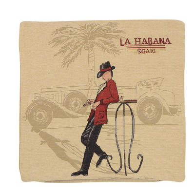 "Wholesale Job Lot Of 10 Cushion Covers With ""La Habana"" Tapestry Style Design 45cm (18"")"