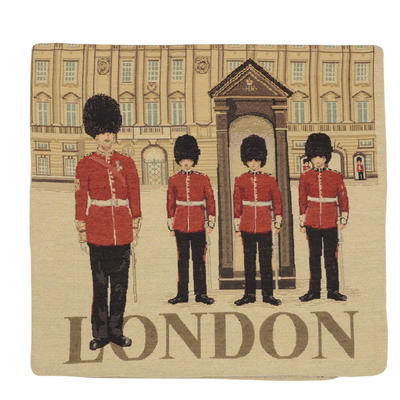 "Wholesale Job Lot Of 10 Cushion Covers With ""London"" Tapestry Style Design 45cm (18"")"