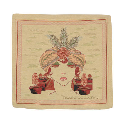 """Wholesale Job Lot Of 10 Cushion Covers With """"Couture"""" Tapestry Style Design 45cm (18"""")"""
