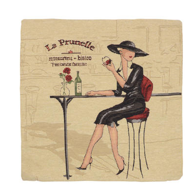 "Wholesale Job Lot Of 10 Cushion Covers With ""La Prunelle"" Tapestry Style Design 45cm (18"")"
