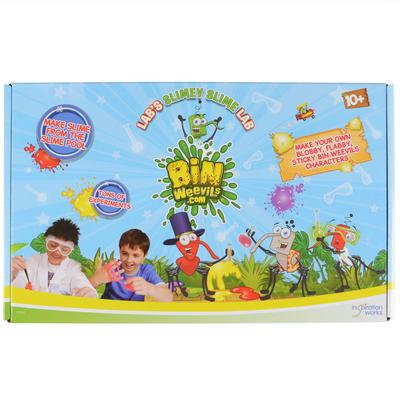 Childrens Bin Weevils Slimey Slime Lab Game Toy New