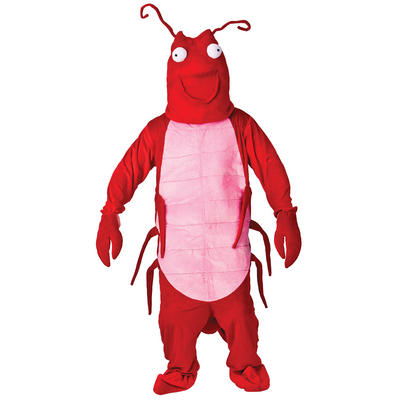 Adult Animal Larry The Lobster Fancy Dress Up Party Costume