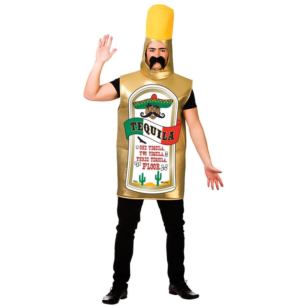 Tequila Bottle Adults Funny Fancy Dress Halloween Costume | Food ...
