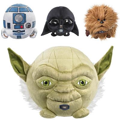 "Childrens 6"" Star Wars Talking Plush Ball Toy"