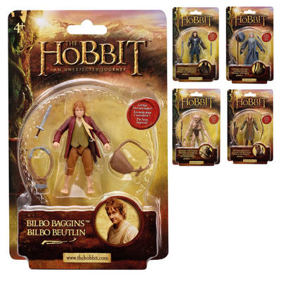 The Hobbit An Unexpected Journey Collectable Action Figure Age 4+