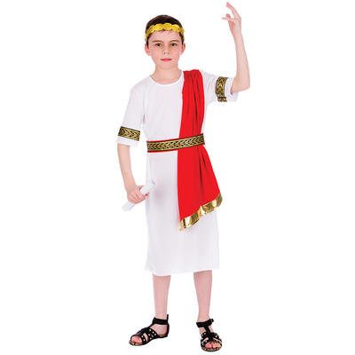 Boys Roman Emperor Fancy Dress Halloween Costume