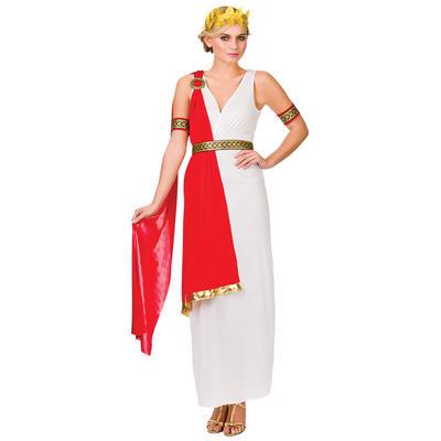 Ladies Glamorous Roman Lady Fancy Dress Halloween Costume