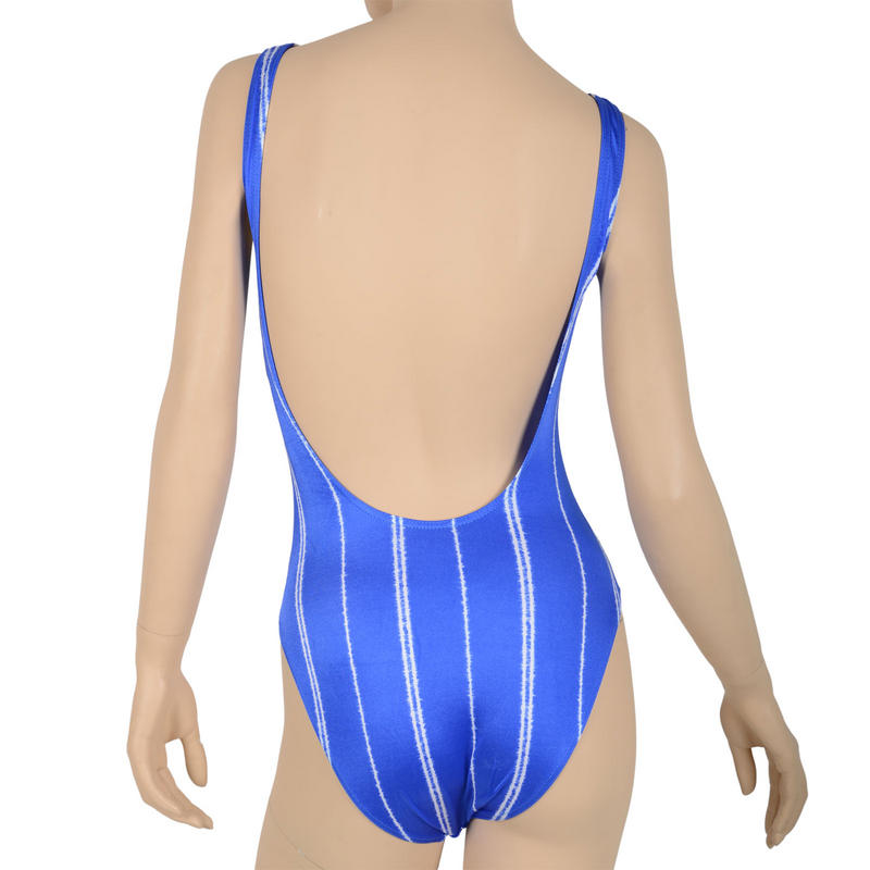 Striped swimwear can make you look slimmer, or chubbier! It is completely up to you how you try to wear the look. You can opt for vertical stripes for a slimmer look, or horizontal stripes for a .