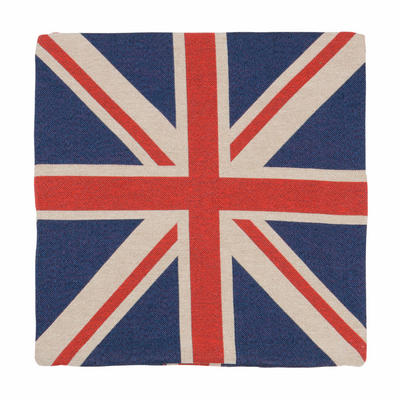 """Cushion Cover - Gorgeous 18"""" (45cm) Tapestry Style Union Jack Design Cover"""