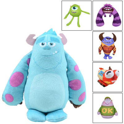 Childrens Monster University Shake & Scare Plush Soft Toy