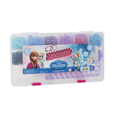Disney Frozen Loom Band Case With 2400 Bands Age 6+