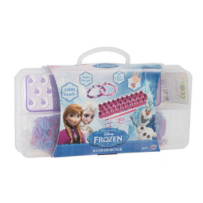 Disney Frozen Loom Band Case With 1000 Bands Age 6+