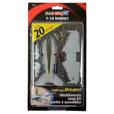Revell Easy Kit F-18 Hornet Military Aircraft Kit Set