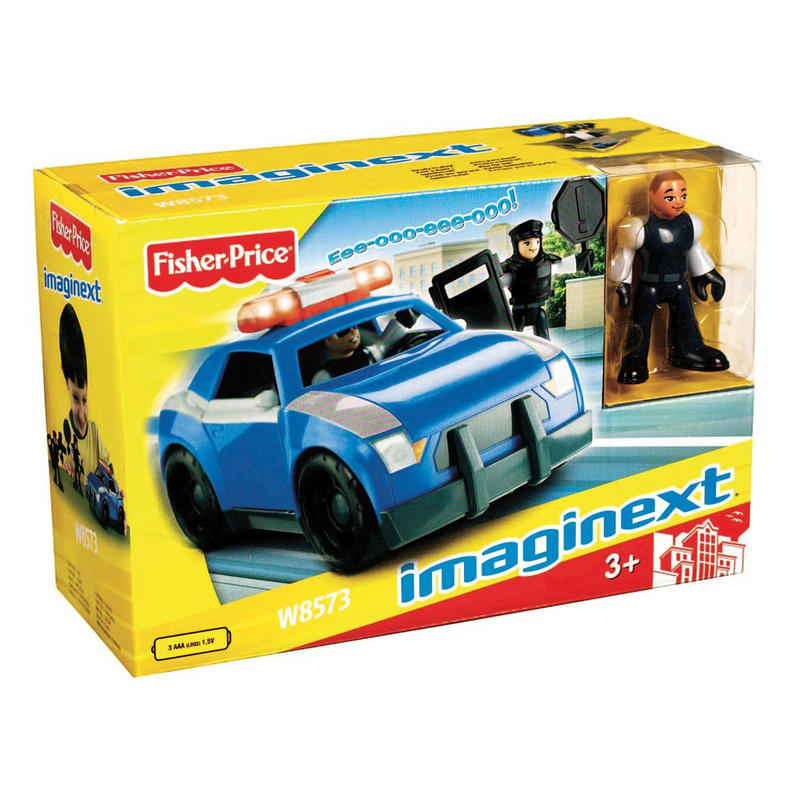 Police Toys For Boys : Childrens fisher price imaginext police car with figure