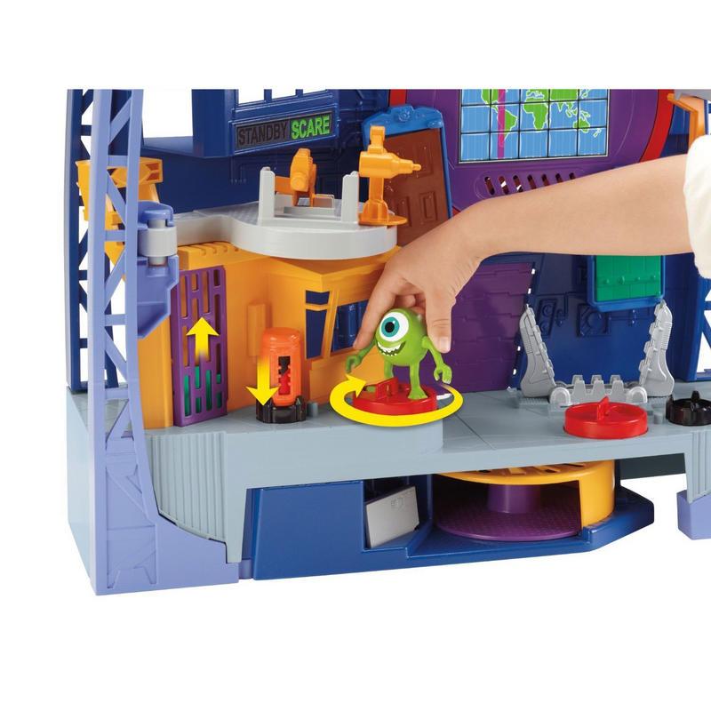 Imaginext Fisher Price Monsters University Scare Floor Playset New