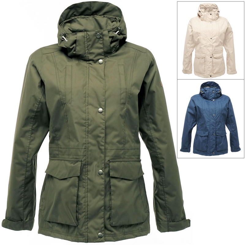 Regatta Womens Meuse Waterproof Jacket With Concealed Hood