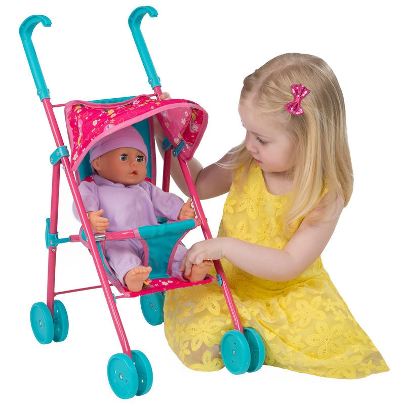 Toys For Age 3 : Disney doc mcstuffins mini dolls stroller girls toy age
