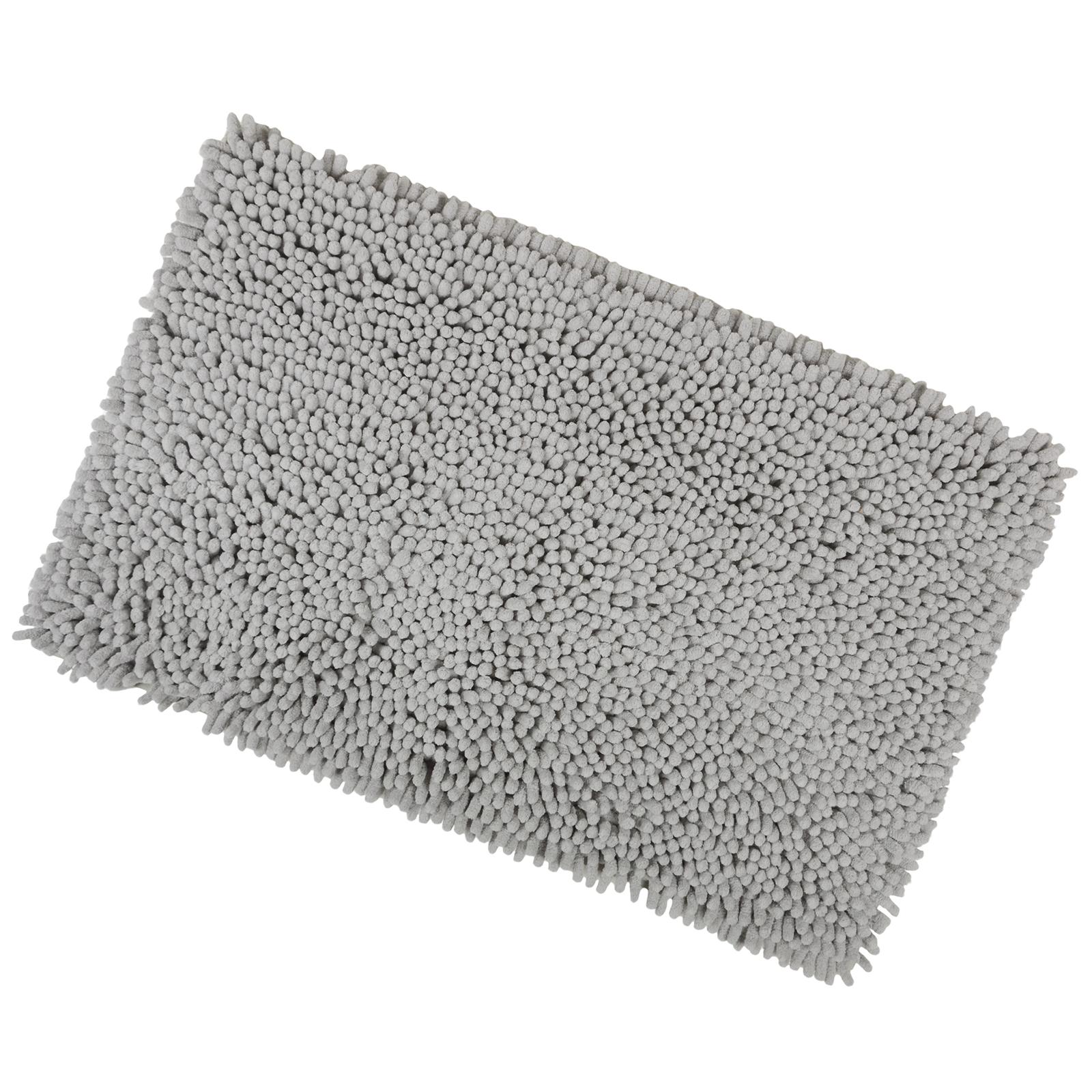 Gy Microfibre Bathroom Shower Bath Mat Rug Non