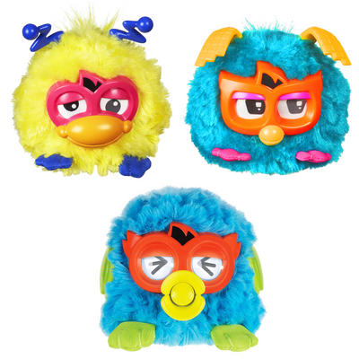 Furby Party Rockers Light Up Sing Interactive Soft Toy Electronic Pet