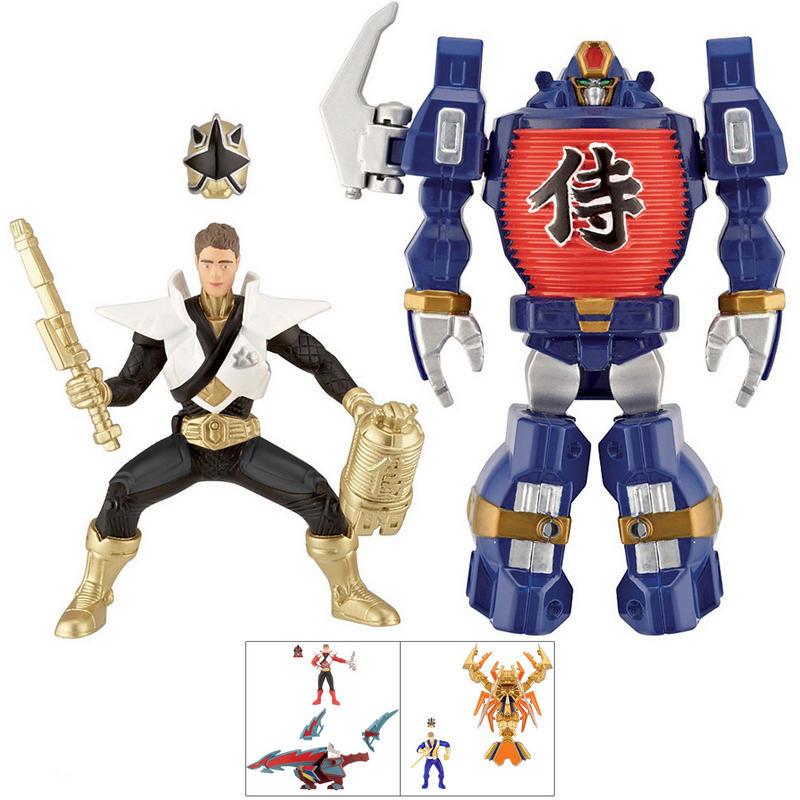 Power Rangers Super Samurai Ranger Figure And Zord