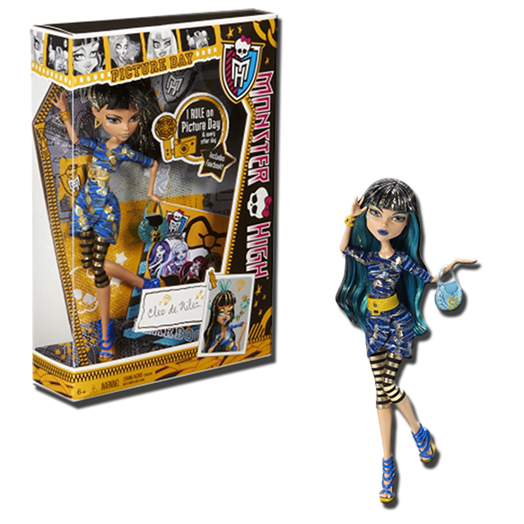 Monster High Picture Day Cleo de Nile 11Inch Fashion Doll
