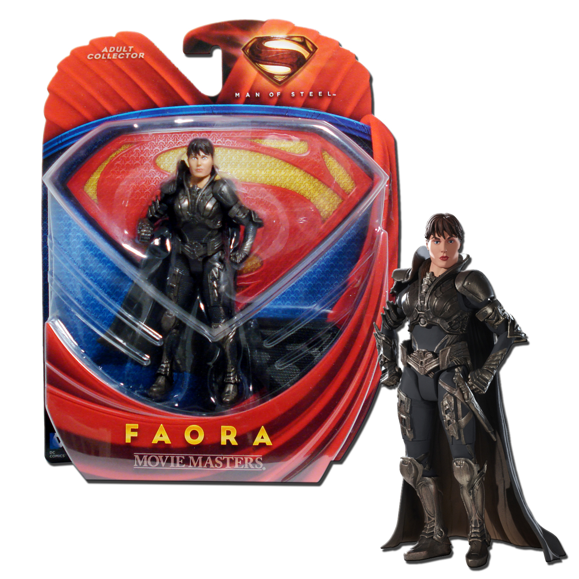 Superman Man Of Steel Movie Masters Faora 6 Inch Action