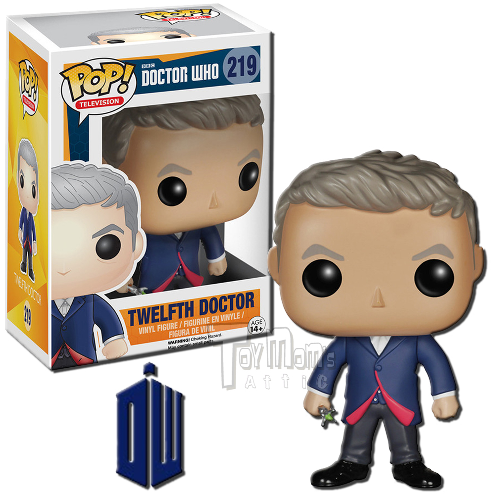 Funko Pop Television: Funko POP! TV Doctor Who Peter Capaldi As Twelfth Doctor
